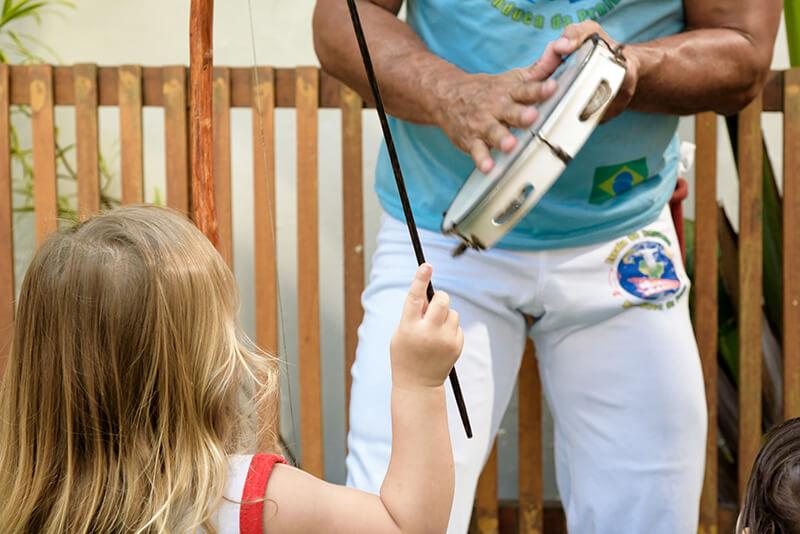 Aprendiz de capoeira