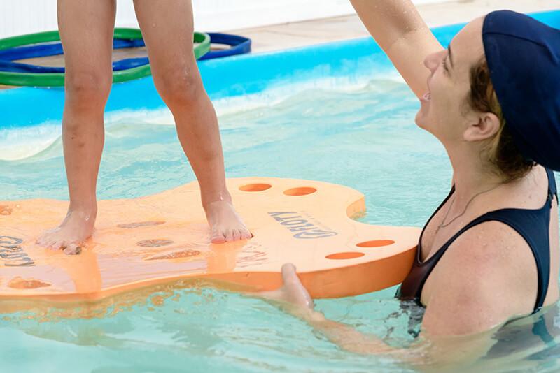 Atividade física e coordenação motora na água