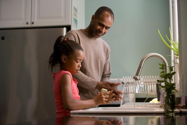 atividades domésticas com crianças