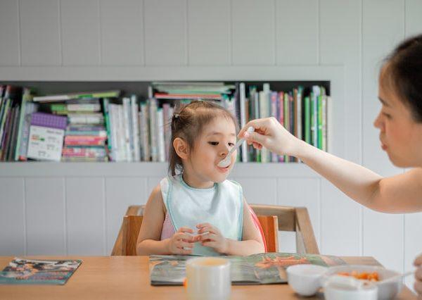 educação alimentar na primeira infância